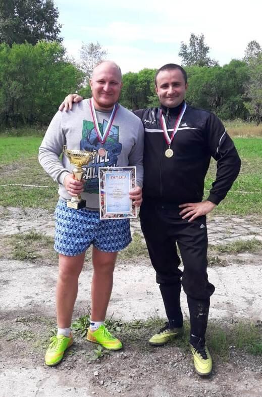 Спортивные награды ДЦС-4