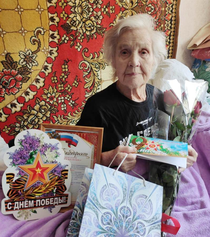 Главному ветерану — почти 99 лет